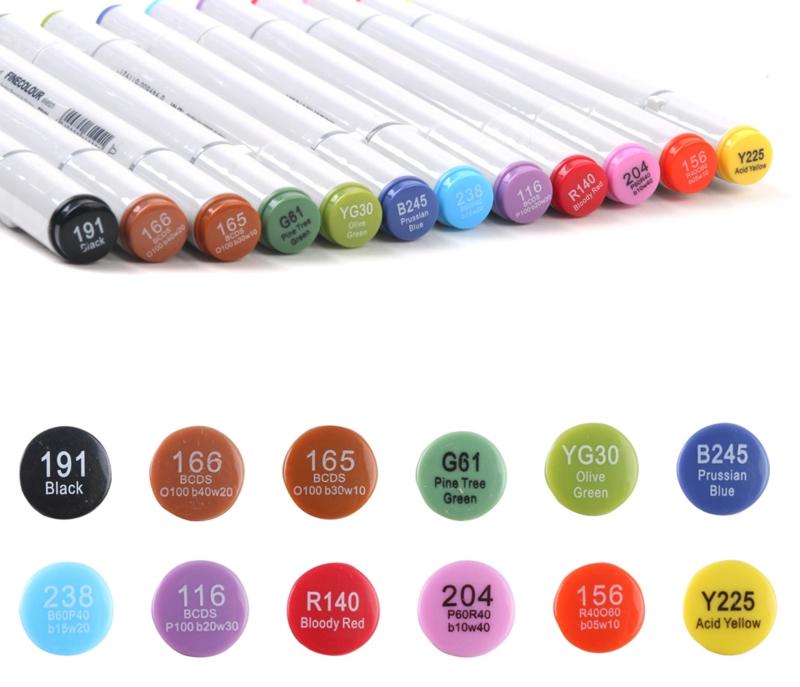 Fine Color Waterproof Markers