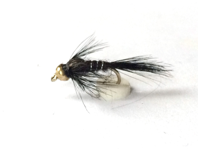 Gold Bead Black Nymph
