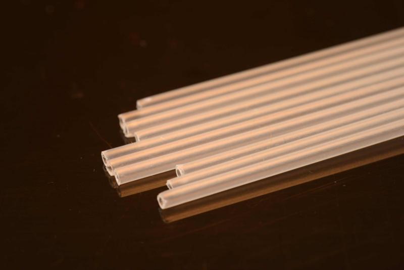 Hard Plastic Tube 1.8mm clear