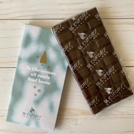 Zaanse chocolade 65% Xmas tree