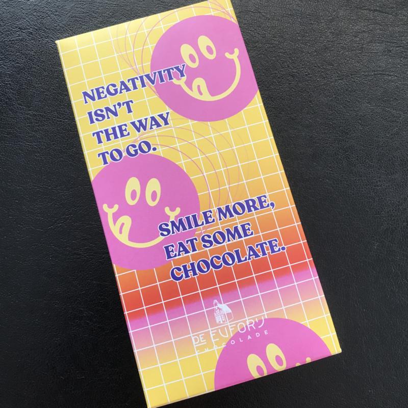 Zaanse melkchocolade SMILE MORE