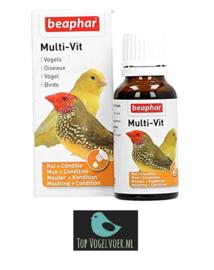 Beaphar Multi-vit 50ml voor vogels