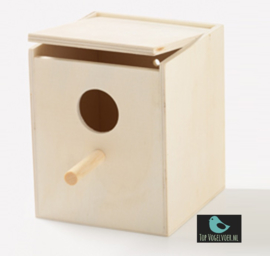Nestkast tropen met invlieggat (12,5x10,5x10,5)