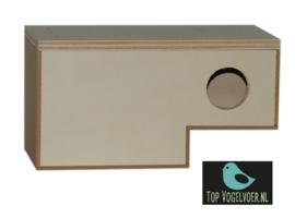 Nestkast gouldamadine instap model Afmeting: (DxBxH) 10.5x20x10.5cm