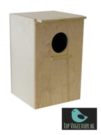 Nestkast valkparkiet staand (20,5x18x30)