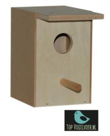 Nestkast tropen middel met invlieggat (DxBXH) 10.8x10.5x15cm