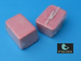 Pikblok (kalkblok) klein roze 1 stuk
