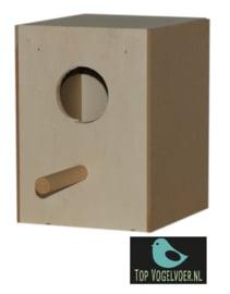 Nestkast tropen met invlieggat groot (DxBxH) 14x13x18cm