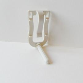 Sepia klem plastic met zitstok