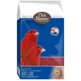 Delinature eivoer rood vet 1kg