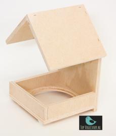 Nestkapel Goudvink (15x15x23) inclusief nestje (12cm)