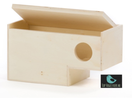 Nestkast gouldamadine instap model (10x19x10)