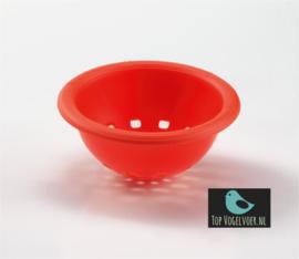 Nestje oranje  zonder haak (10cm)