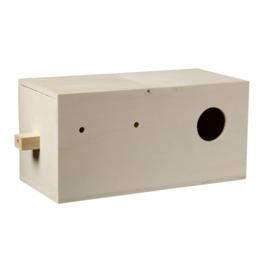Nestkast Agapornide 29,5x14,5x14,5 cm