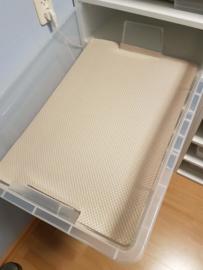 Honingraat bodempapier Samla bak (70,4cm x 47,6cm) 250 stuks