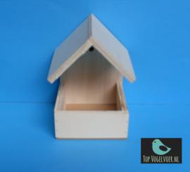 Nestkapel klein (10x10x15cm) dichte bodem
