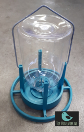 Mijnlamp met plastic fles (alleen voor water)