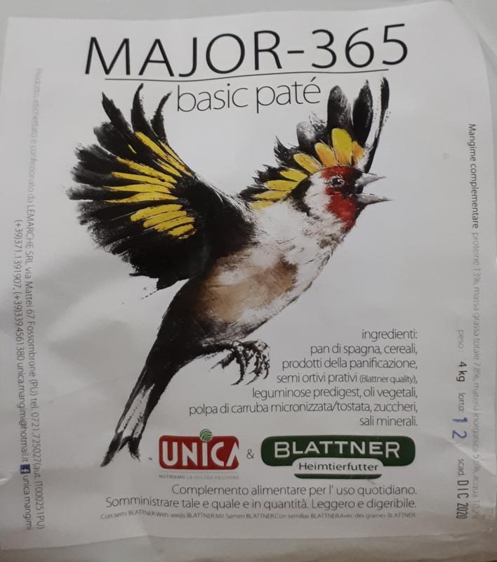 Eivoer Blattner Major 365 basic paté 1kg