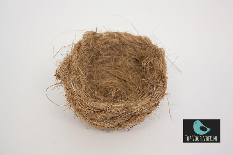 Inlegnestje cocos klein ca. 9cm (1 stuks)