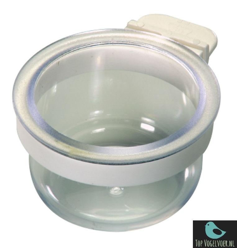 Eivoer bakje met ring transparant