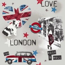 Londen Love Behang WU17624