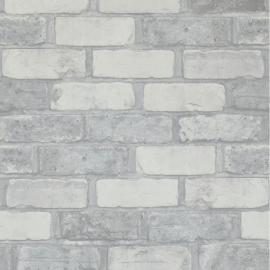 Stenen Behang Grijs 49781
