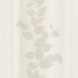 Bloemen Behang Grijs 424768
