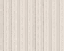 Streep behangpapier grijs 3104-46
