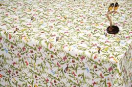 vogel bloemen tafelzeil tafelkleed 150-058