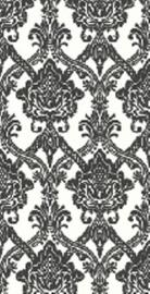 zwart wit vlies 3d barok behang 7189.7