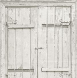 Oude Luiken Behang grijs 525014