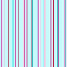 Love behang 136801 Stripes turquoise & pink