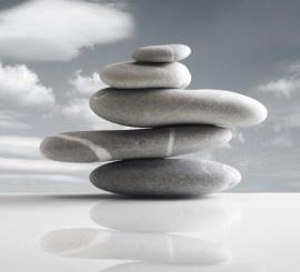 fotobehang art. 70030 Balancerende Stenen