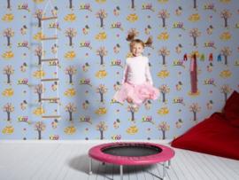 Esprit Kids 94115-3 behangpapier dierenbos