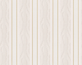 engelse streepjes glim behangpapier 7641-33