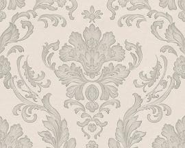 Behangpapier barok grijs 30190-4