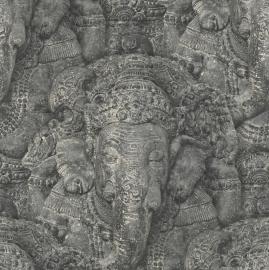 Indiaanse God Genesha Behang 525502
