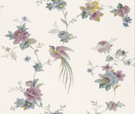 Behangpapier Rasch Sophie Charlotte behang Bloemen multi-colour  440638