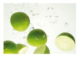 Fotobehang Limes Swim 33