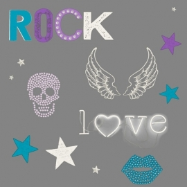 Rock Love Behang WU17627