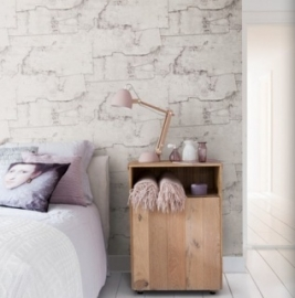 beton look behang 49762 Vintage