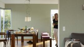 groen vlies behang lambrisering 96072-1