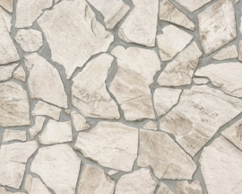 Wood 'n Stone behangpapier 9273-23 natuursteen
