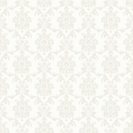 Love behang 136822 Baroque white