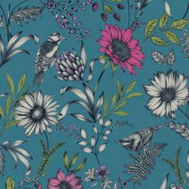 Arthouse Bloom behang Botanical Songbird 676001