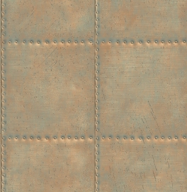Behang Reclaimed Metal FD22344