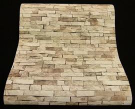 steen behang beige bruin xx211
