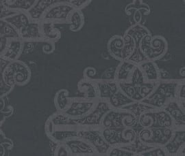 785425 vanity fair grijs zilver behang