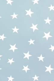 25853 kids club sterren behang blauw wit