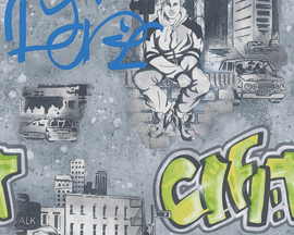 Boys and Girls behangpapier 30468-2 Graffiti